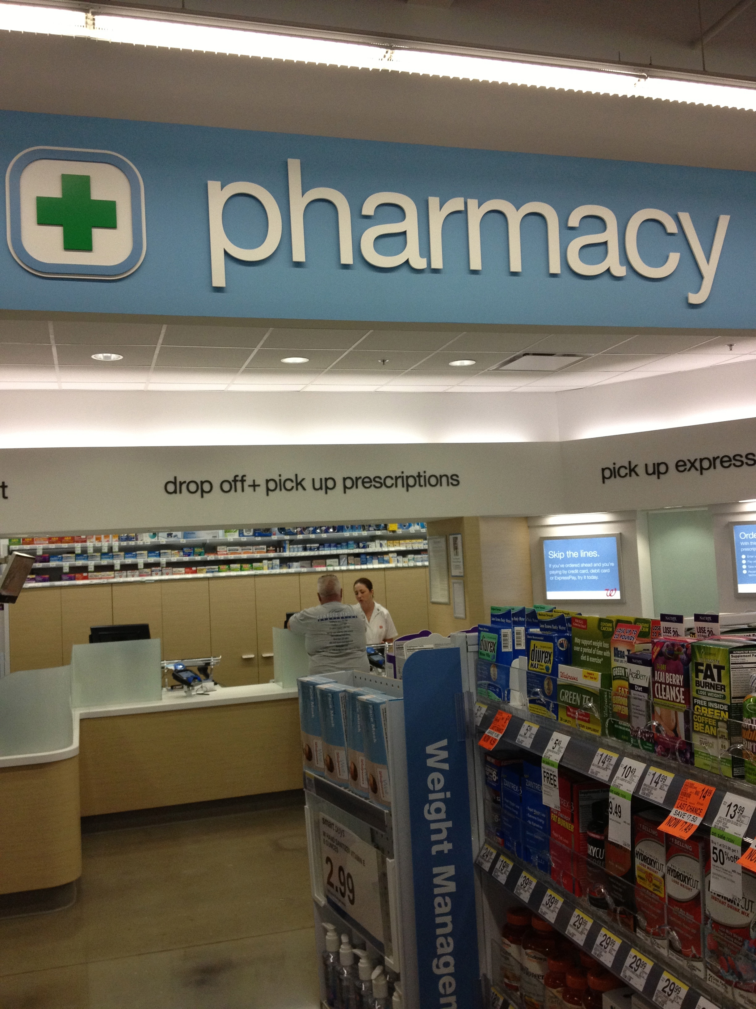 New Walgreens Pharmacy